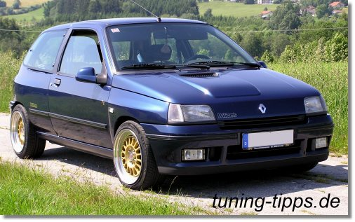 tuning tipps renault clio williams. Black Bedroom Furniture Sets. Home Design Ideas